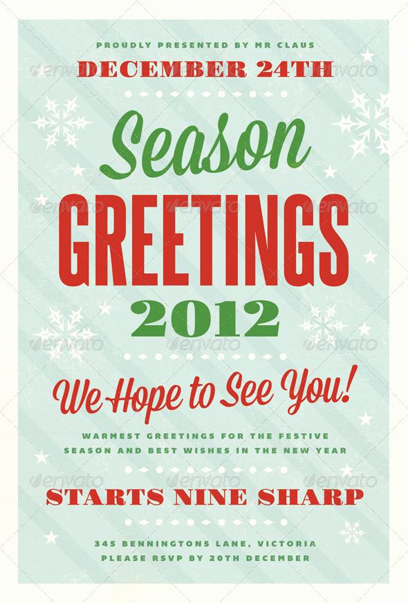 Free Christmas Flyer Templates Inspirational Festive Christmas Flyer Template by Furnace