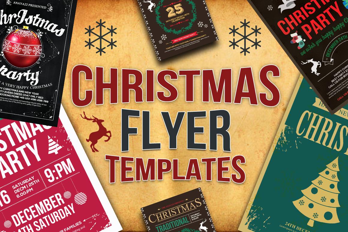 Free Christmas Flyer Templates Lovely 10 Christmas Flyers Bundle Flyer Templates On Creative