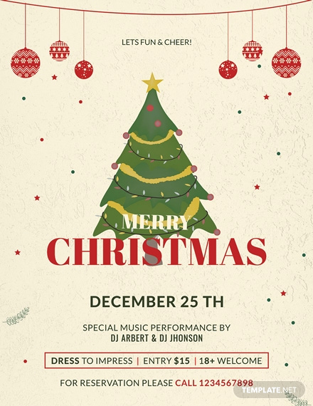 Free Christmas Flyer Templates New 28 Free Christmas Flyer Templates [download Ready Made