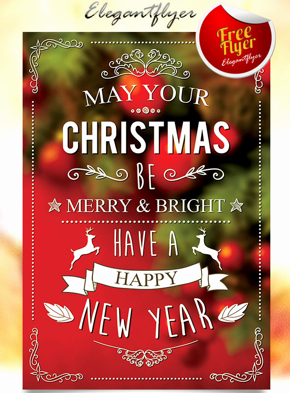Free Christmas Flyer Templates Unique 45 Christmas Premium & Free Psd Holiday Card Templates for