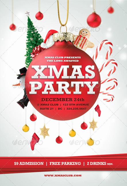 Free Christmas Flyer Templates Unique Beautiful Christmas Posters and Flyer Design Templates