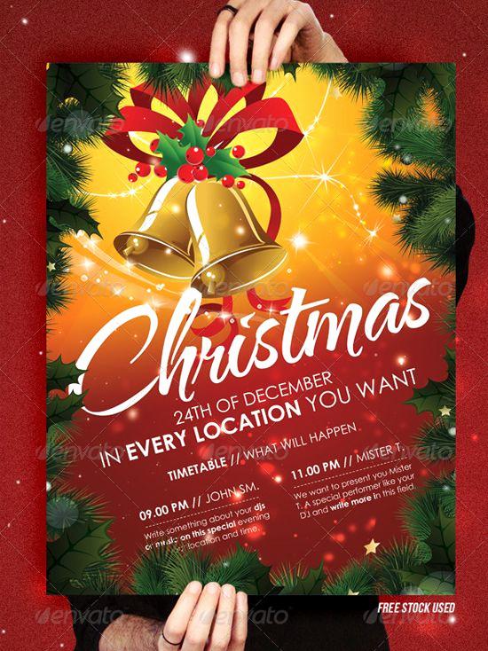 Free Christmas Flyer Templates Unique Christmas Brochure Templates Free