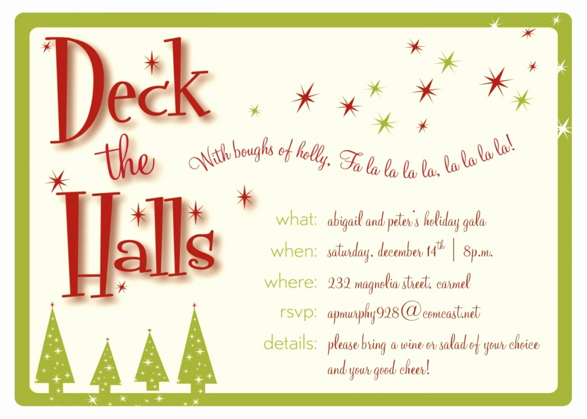 Free Christmas Invitation Templates Awesome Christmas Invitation Templates