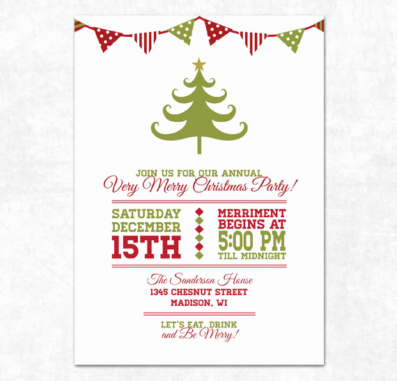 Free Christmas Invitation Templates Best Of Free Printable Holiday Party Flyer Templates