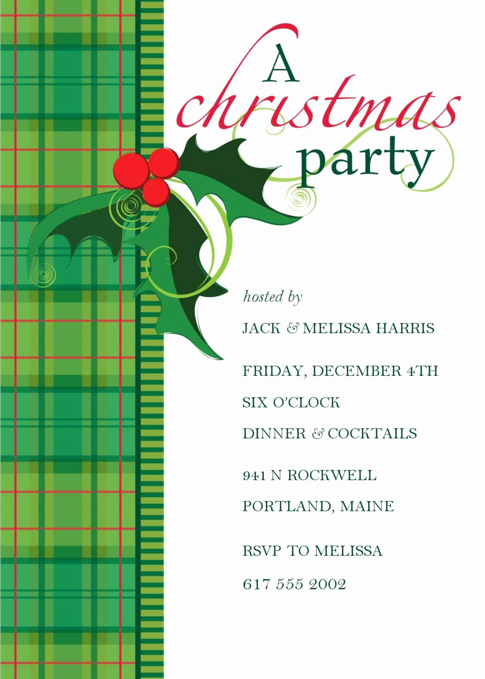 Free Christmas Invitation Templates New Christmas Invitation Download Templates Free