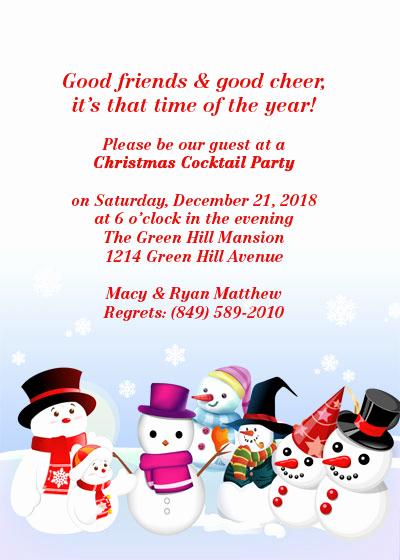 Free Christmas Invitation Templates Unique Christmas Party Free Invitation Template ← Wedding