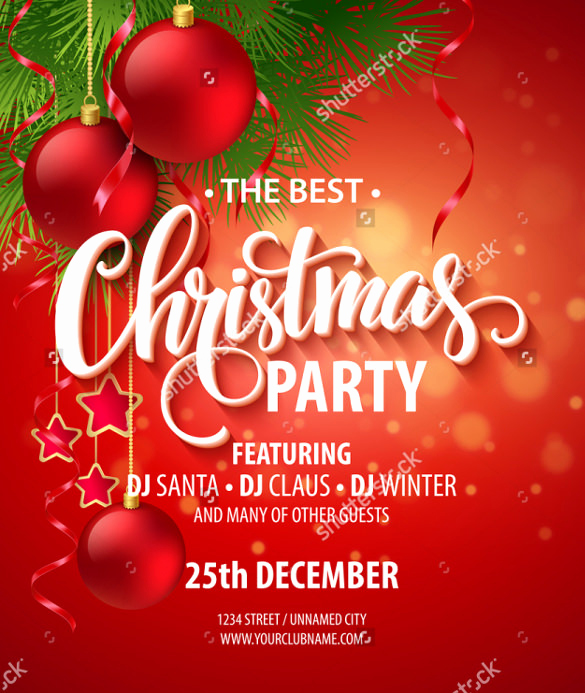 Free Christmas Party Invitation Templates Beautiful 25 Party Invitation Templates Psd Ai Word