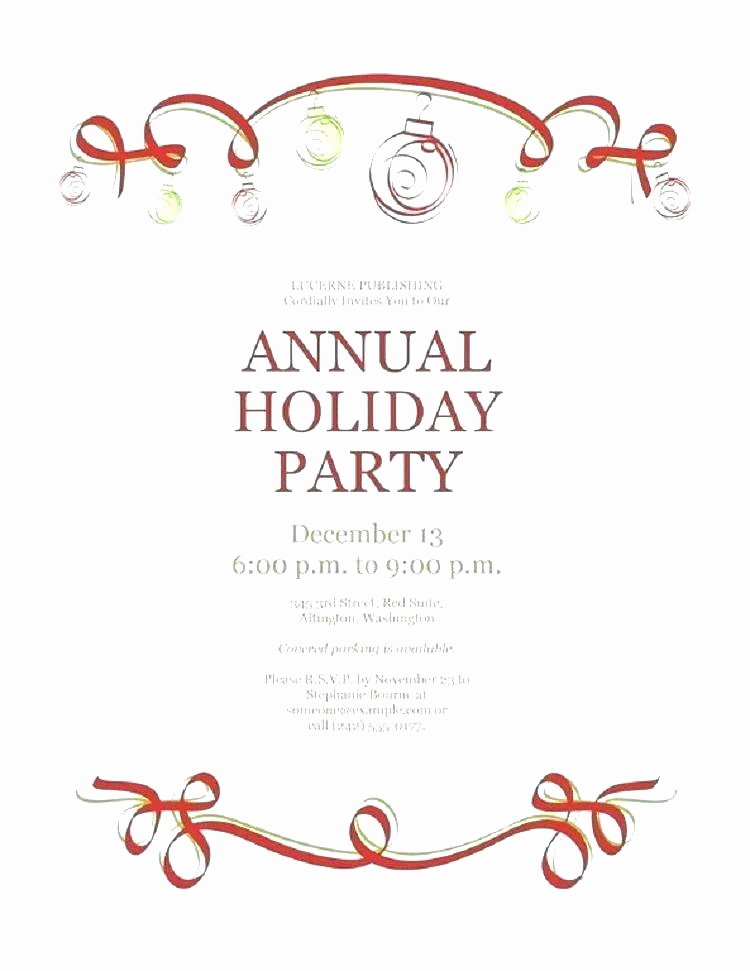 Free Christmas Party Invitation Templates Beautiful Christmas Invitation Template Free Download