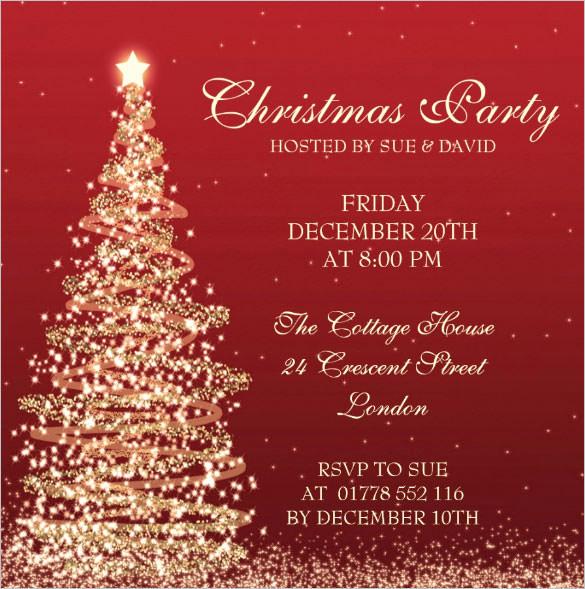 Free Christmas Party Invitation Templates Fresh Christmas Invitation Template – 26 Free Psd Eps Vector