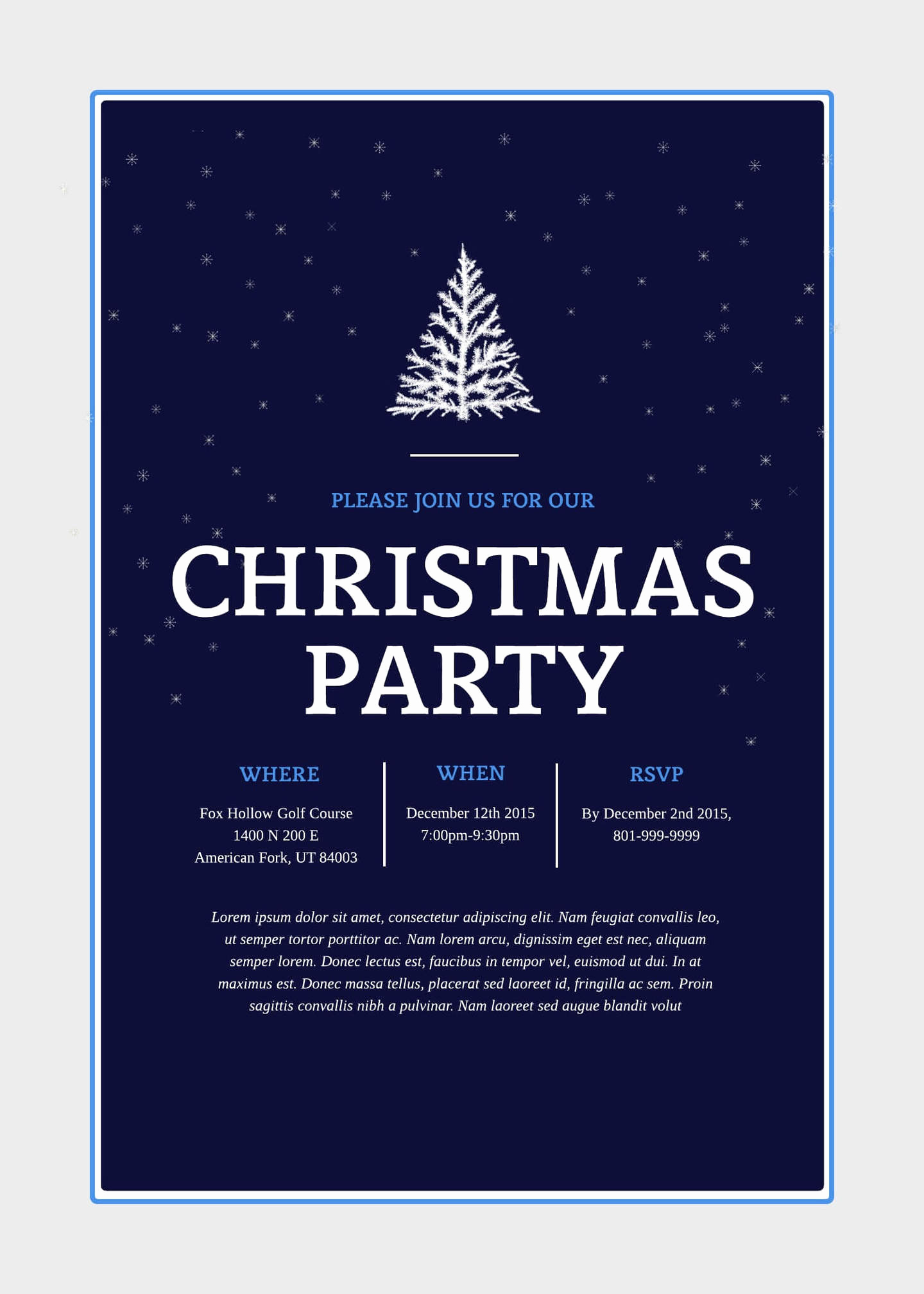 Free Christmas Party Invitation Templates Inspirational Print and Win Holiday Sweepstakes