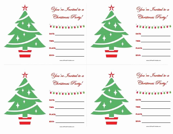 Free Christmas Party Invitations Template Awesome 111 Best Images About All Free Printable On Pinterest
