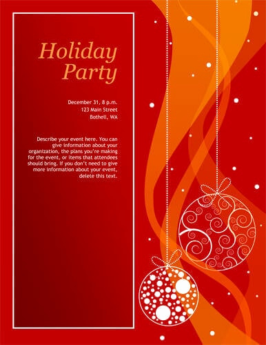 Free Christmas Party Invitations Template Unique 14 Free Diy Printable Christmas Invitations Templates