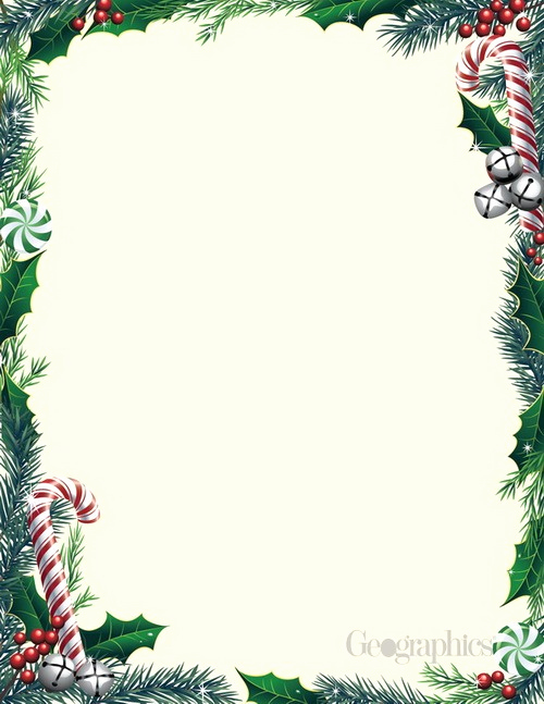 Free Christmas Stationery Templates Fresh Christmas Letterhead Paper