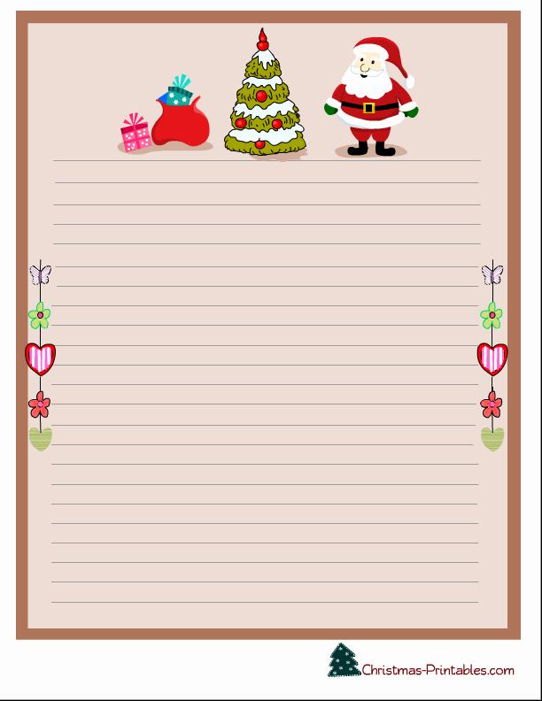 Free Christmas Stationery Templates Fresh Free Printable Christmas Stationery