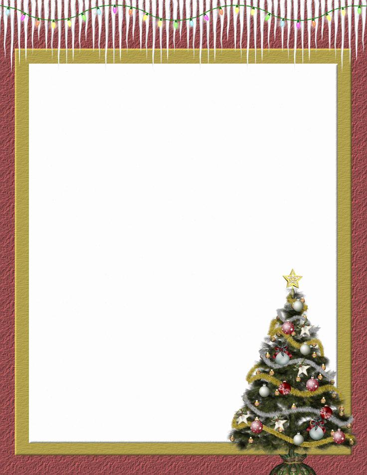 Free Christmas Stationery Templates Luxury 111 Best Christmas Stationery Images On Pinterest