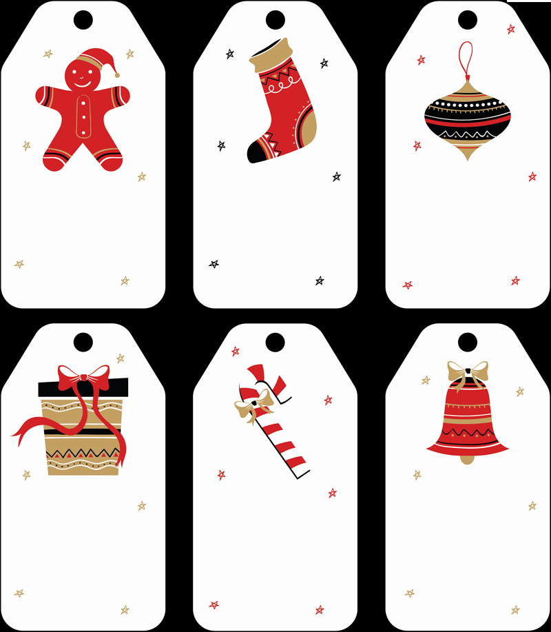 Free Christmas Templates for Word Awesome Free Christmas Gift Tag Templates Editable & Printable