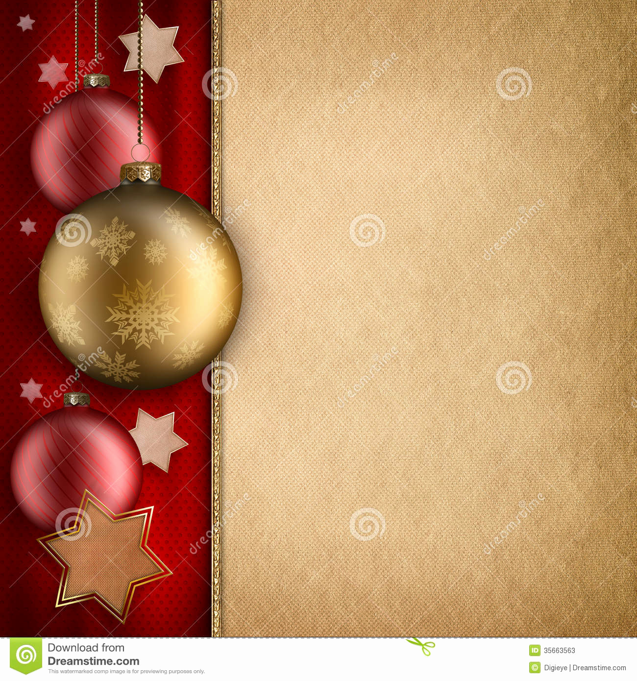 Free Christmas Templates for Word Beautiful Christmas Card Template Baulbles and Stars Stock