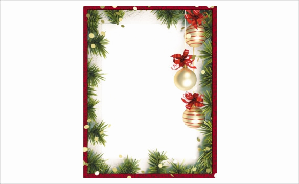 Free Christmas Templates for Word Elegant 19 Holiday Border Templates Free Psd Vector Eps Png