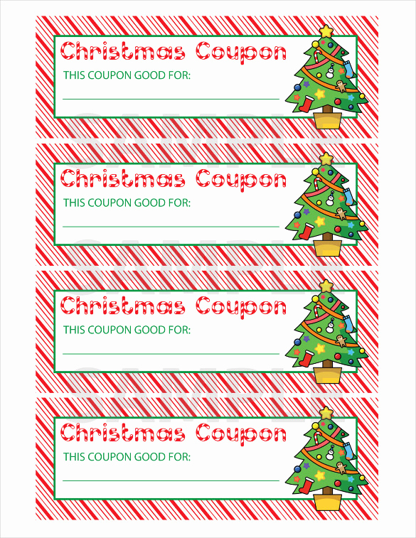Free Christmas Templates for Word Elegant 35 Christmas Coupon Templates Psd Doc Apple Pages