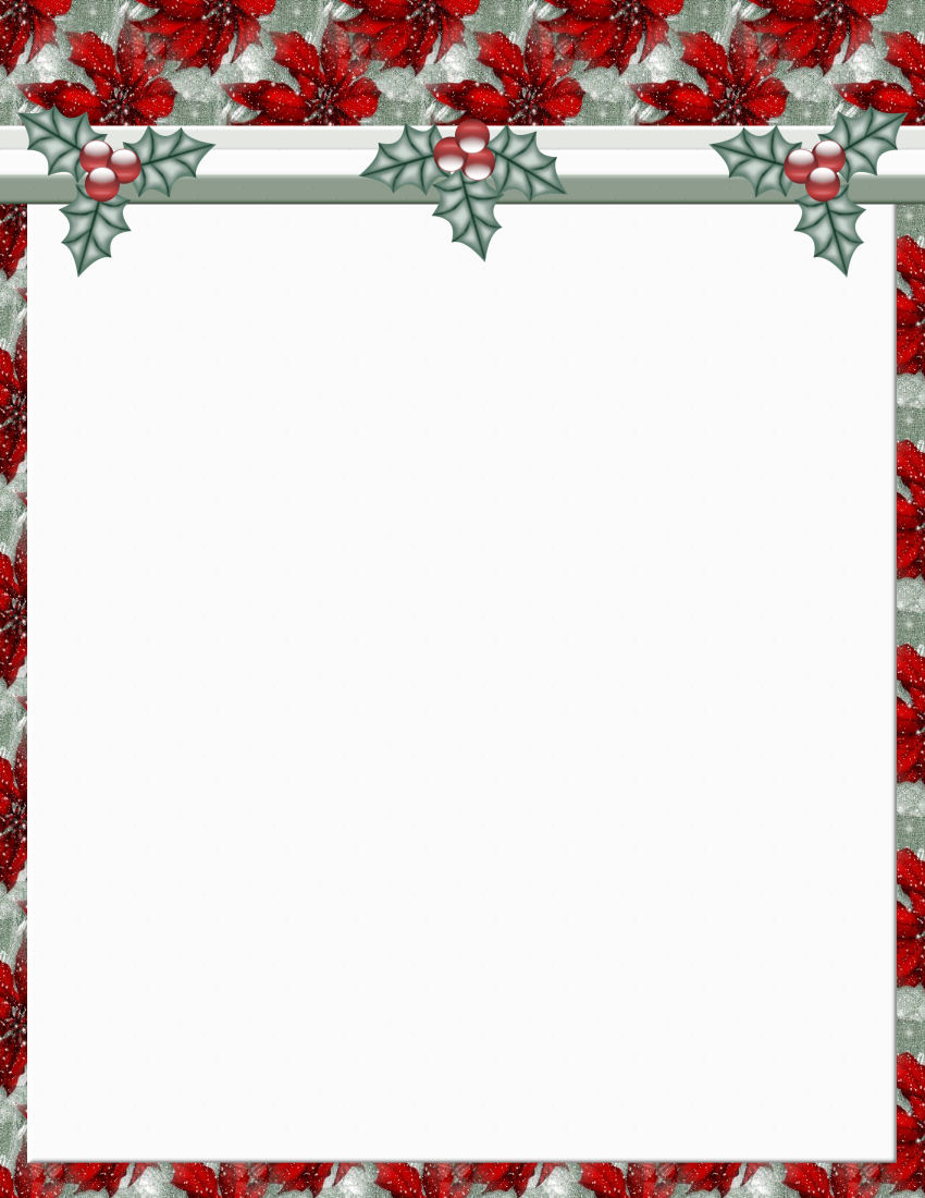 Free Christmas Templates for Word New Christmas 2 Free Stationery Template Downloads