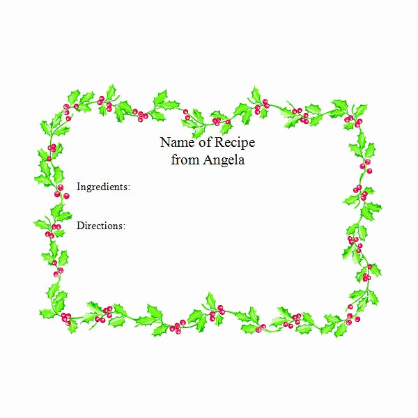 Free Christmas Templates for Word Unique Free Christmas Holiday Templates and More for Microsoft Fice
