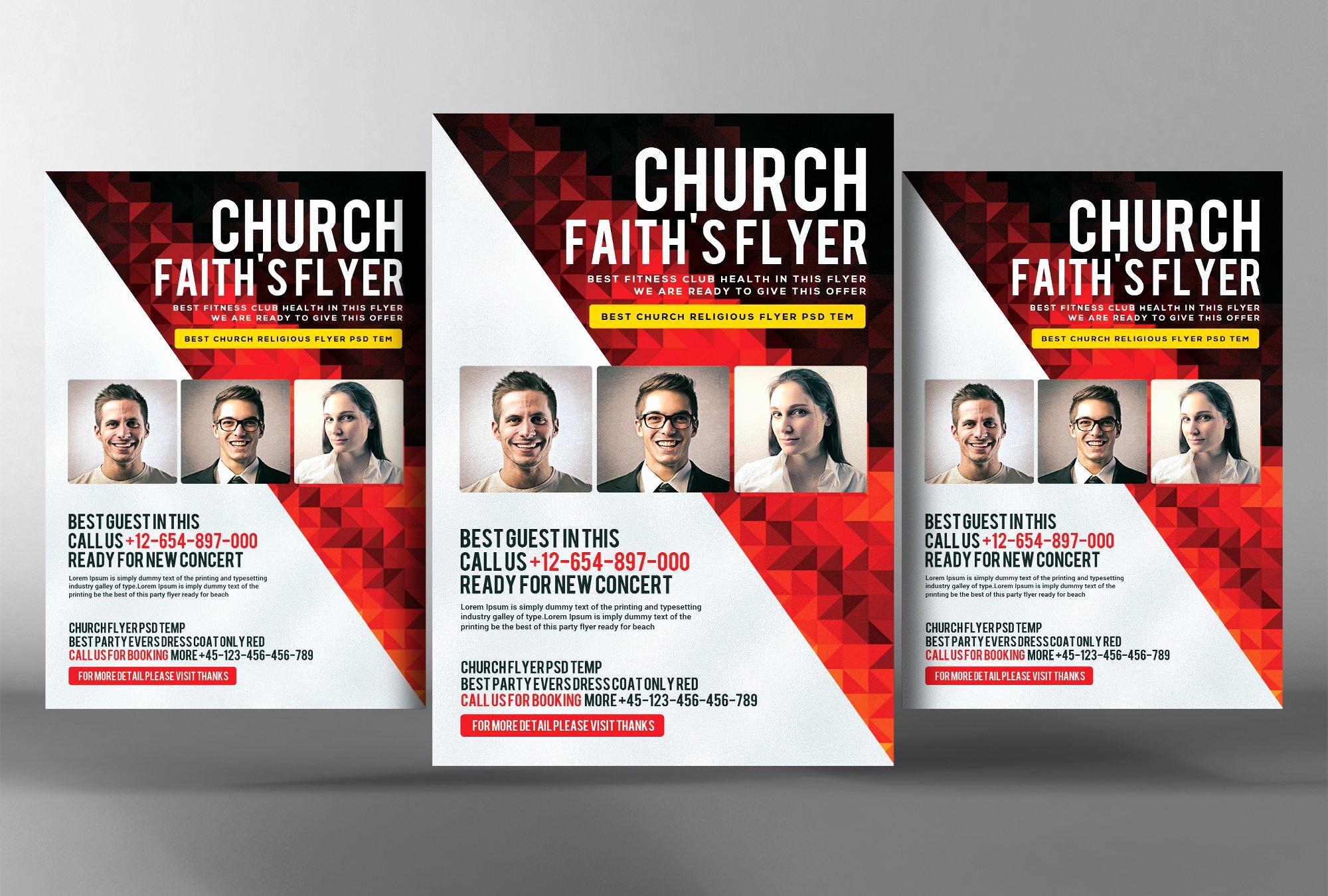 Faith Church Flyer Template