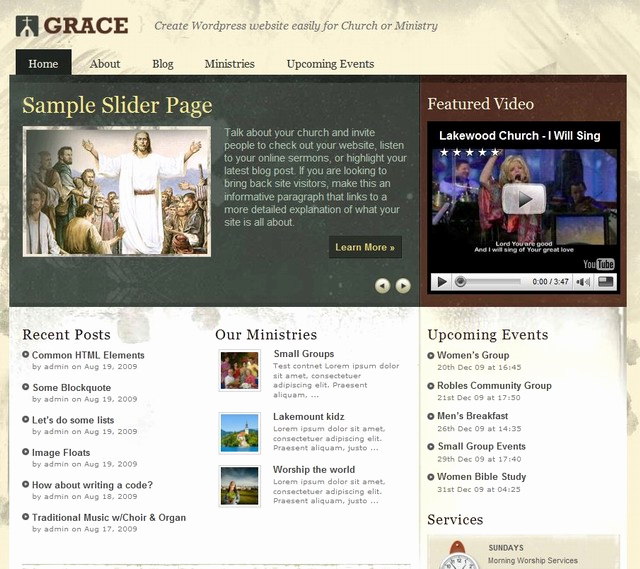 Free Church Wordpress themes Fresh 10 Free Church Wordpress themes and Premium Wordpress