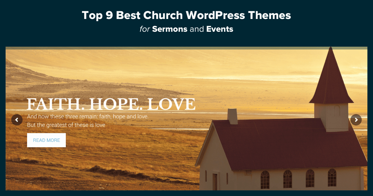Free Church Wordpress themes Lovely top 15 Best Church Wordpress themes for Sermons & events 2018
