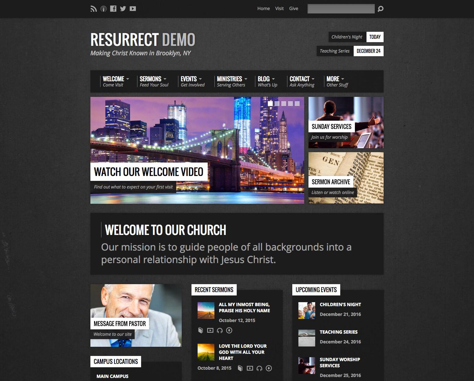 Free Church Wordpress themes Luxury Best Church Wordpress themes Churchthemes