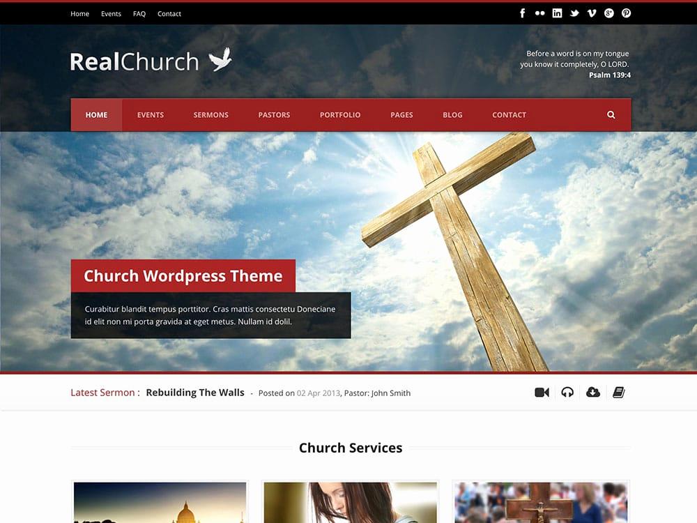 Free Church Wordpress themes New 30 Best Church Wordpress themes 2016 athemes