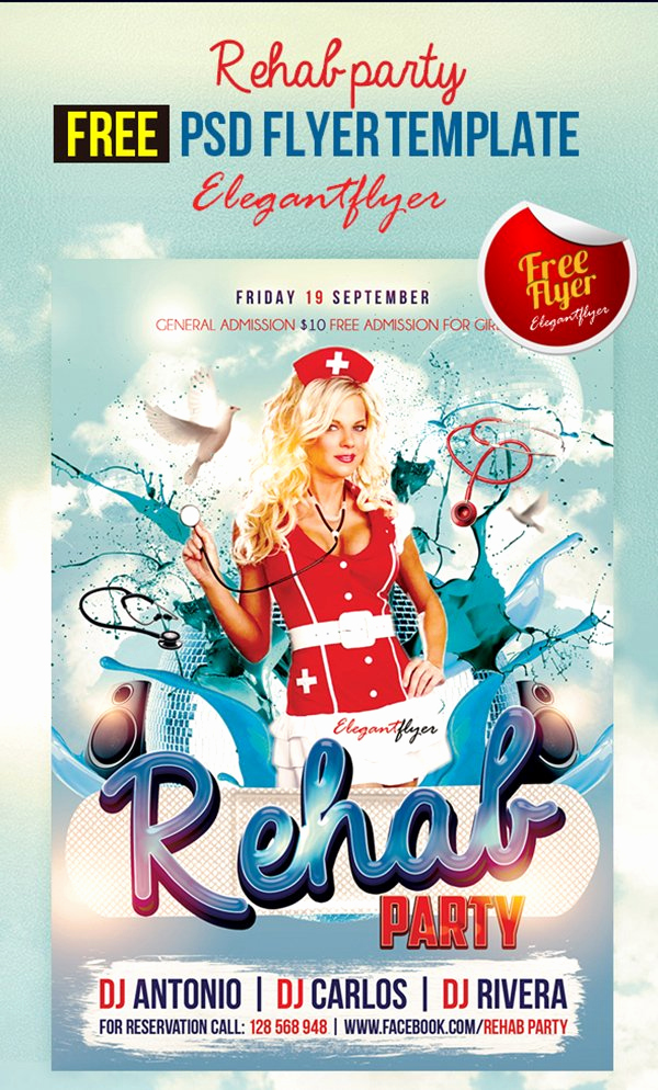 Free Club Flyer Templates Inspirational 90 Awesome Free Flyer Templates Psd
