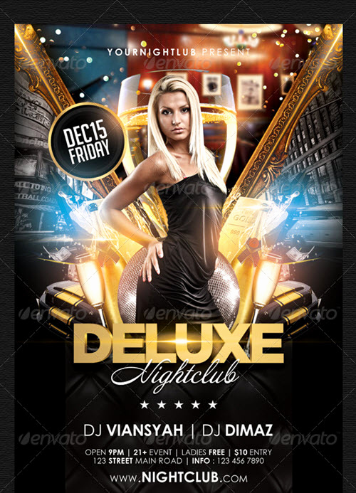 Free Club Flyer Templates Lovely 30 Free Nightclub Flyer Templates for Hot Parties