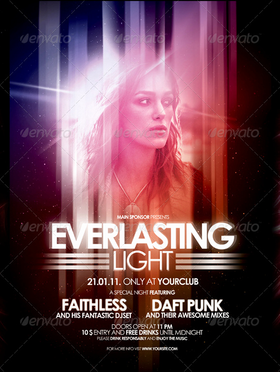 Free Club Flyer Templates Luxury 160 Free and Premium Psd Flyer Design Templates Print