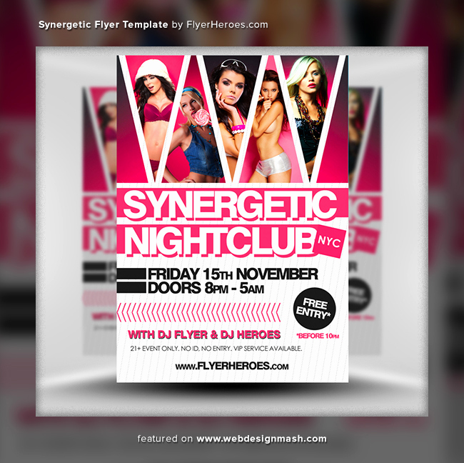 Free Club Flyer Templates Luxury 20 New Free Club Flyer Templates Website Design