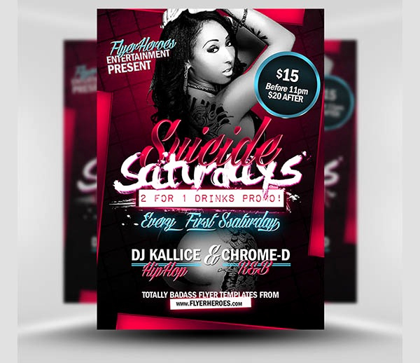 Free Club Flyer Templates Luxury Club Flyer Templates