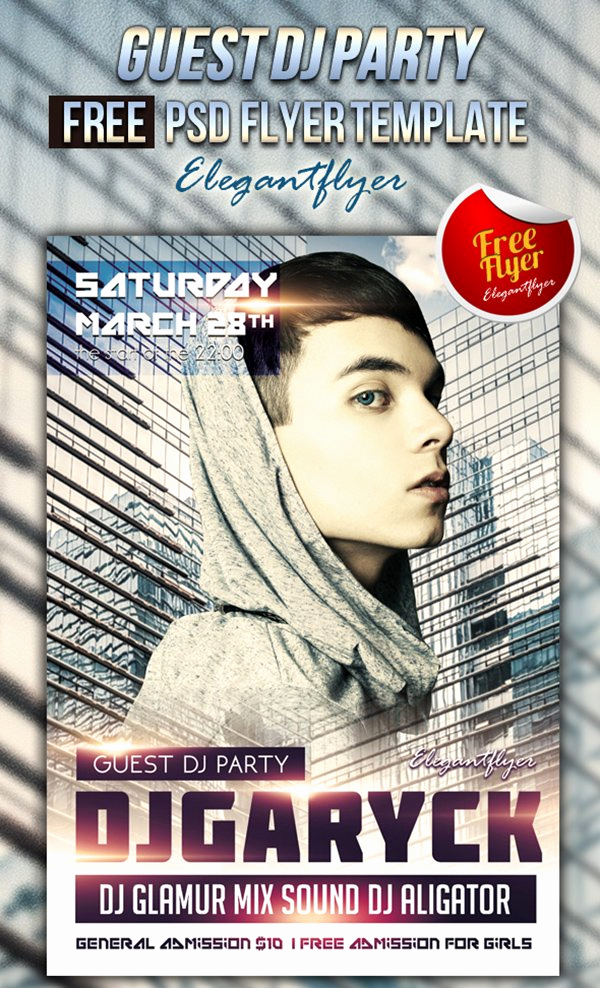 Free Club Flyer Templates New 11 Free Psd Music & Party Flyer Templates – May 2016
