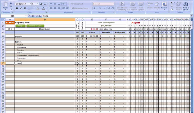 Free Construction Estimate Template Excel Best Of Free Excel Construction Templates