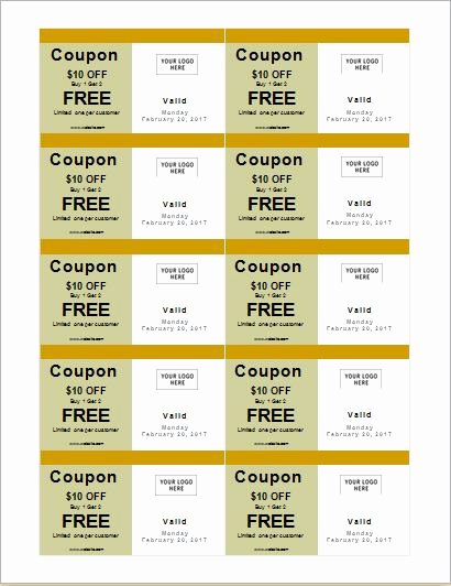 Free Coupon Template Word Awesome How to Make Coupons with Sample Coupon Templates