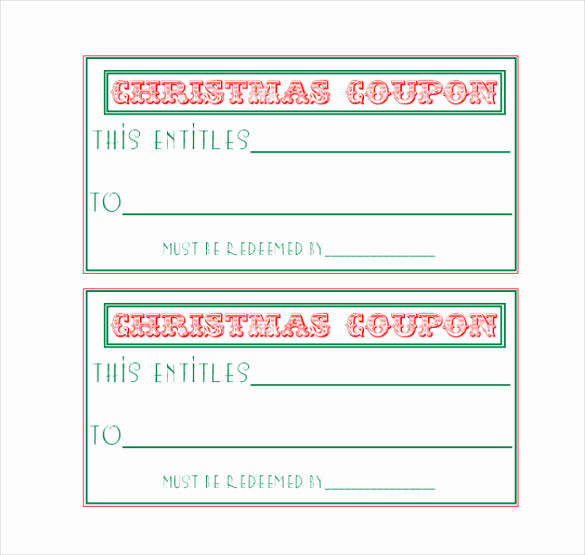 Free Coupon Template Word Beautiful Homemade Coupon Templates – 23 Free Pdf format Download
