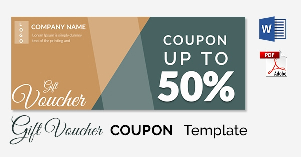 Free Coupon Template Word Best Of Blank Coupon Templates – 26 Free Psd Word Eps Jpeg