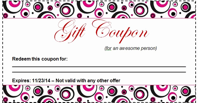 Free Coupon Template Word Fresh 50 Free Coupon Templates Template Lab