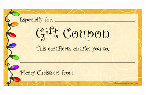 Free Coupon Template Word Fresh Homemade Coupon Templates – 23 Free Pdf format Download