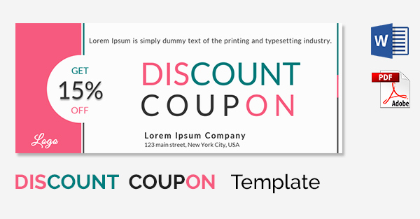 Free Coupon Template Word Lovely Coupon Template Word