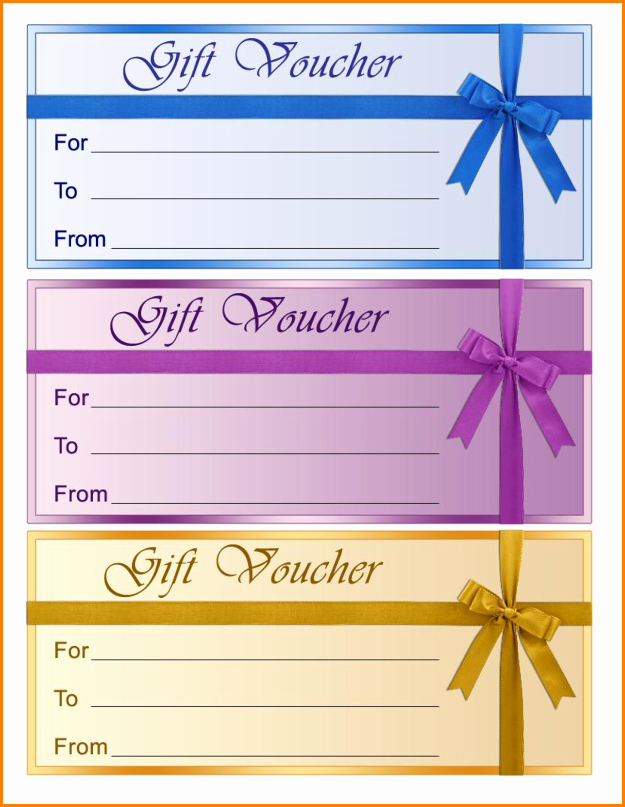 Free Coupon Template Word New Perfect format Samples Of Gift Voucher and Certificate