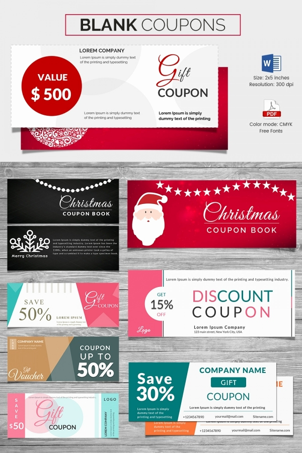 Free Coupon Template Word Unique Coupon Voucher Design Template 26 Free Word Jpg Psd