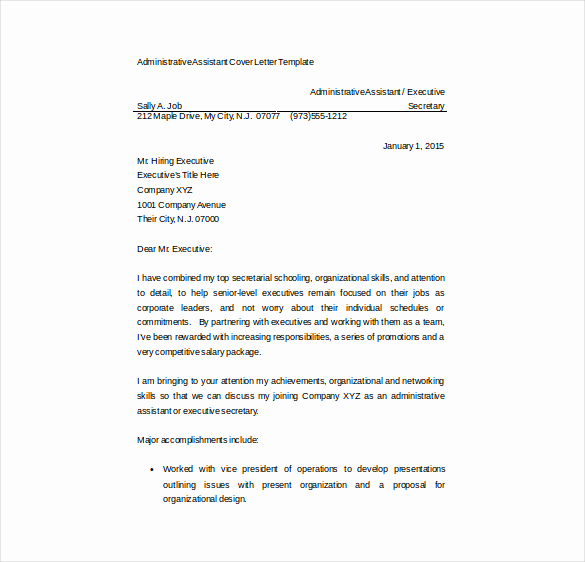 Free Cover Letter Template Word Fresh 17 Resume Cover Letter Templates – Free Sample Example