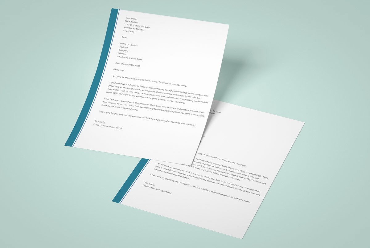 Free Cover Letter Template Word Luxury 12 Cover Letter Templates for Word [best Free Downloadable