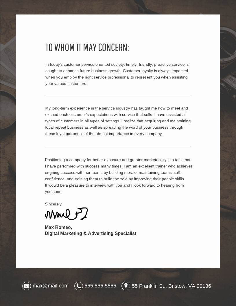 Free Cover Letter Template Word New 10 Cover Letter Templates and Expert Design Tips to