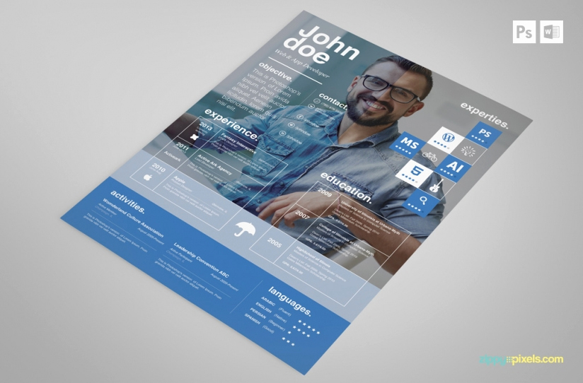 Free Creative Resume Templates Word Best Of Free Creative Psd Resume Template