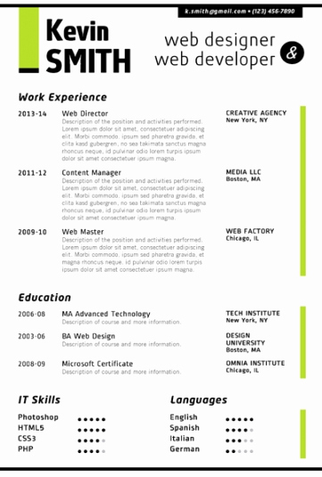 Free Creative Resume Templates Word Fresh Creative Resume Template Trendy Resumes